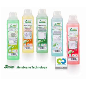 Ny flasker med rengjøringskjmei fra Tana Green Care. Meget miljø vennlig. Flaskene har smart membran som hindrer lekkasjer