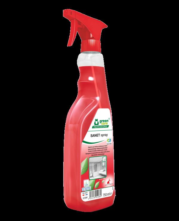 SANET Spray 750ml C2C Side Web Image W600 Hx
