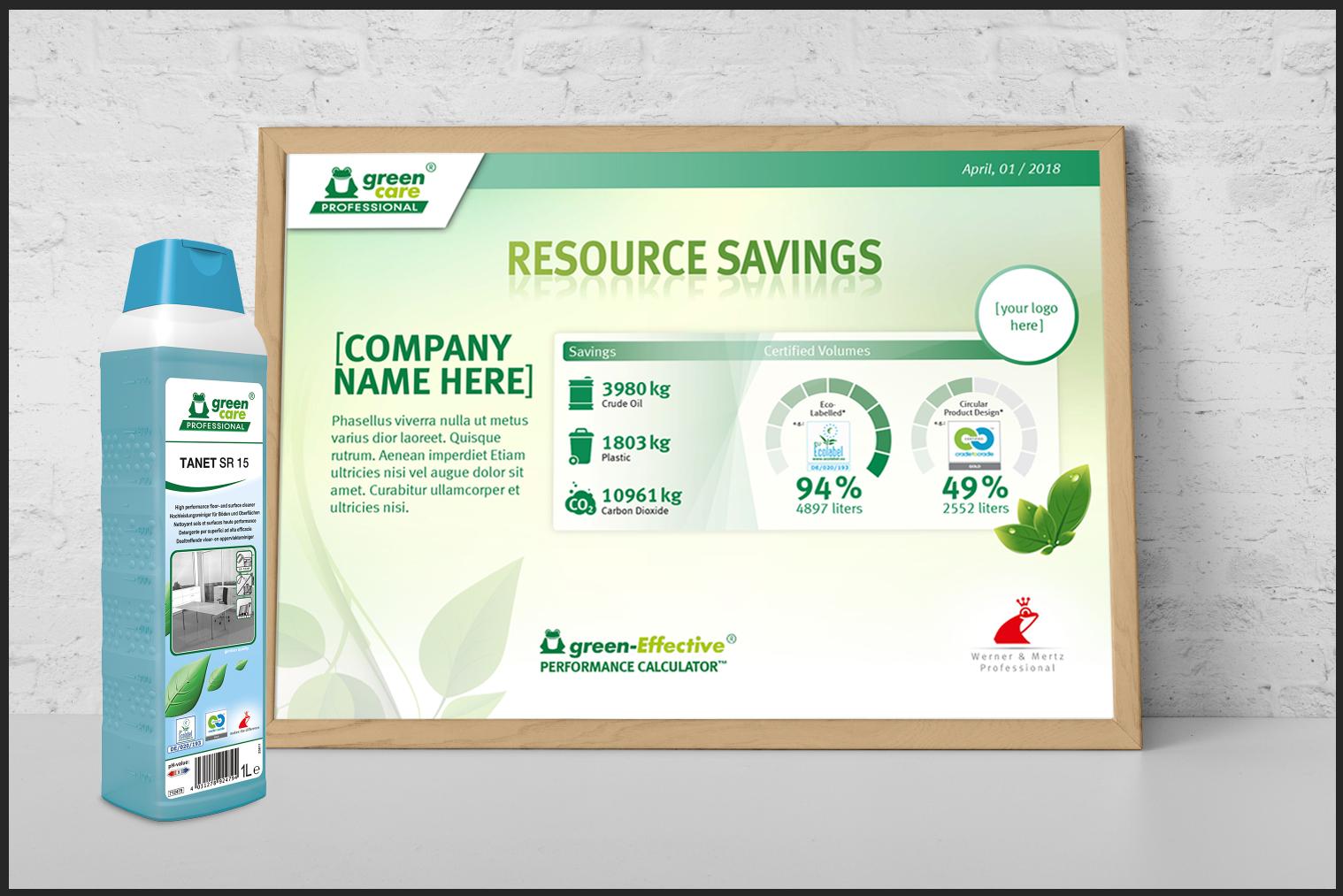 Green Effective Performance Certificate #2